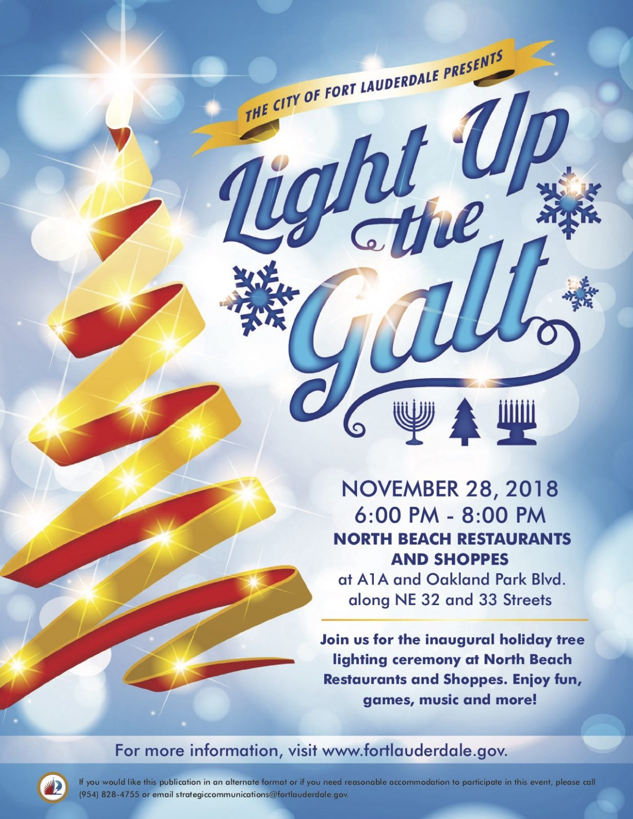 Light up the Galt @ Northbeach Restaurants & Shoppes
