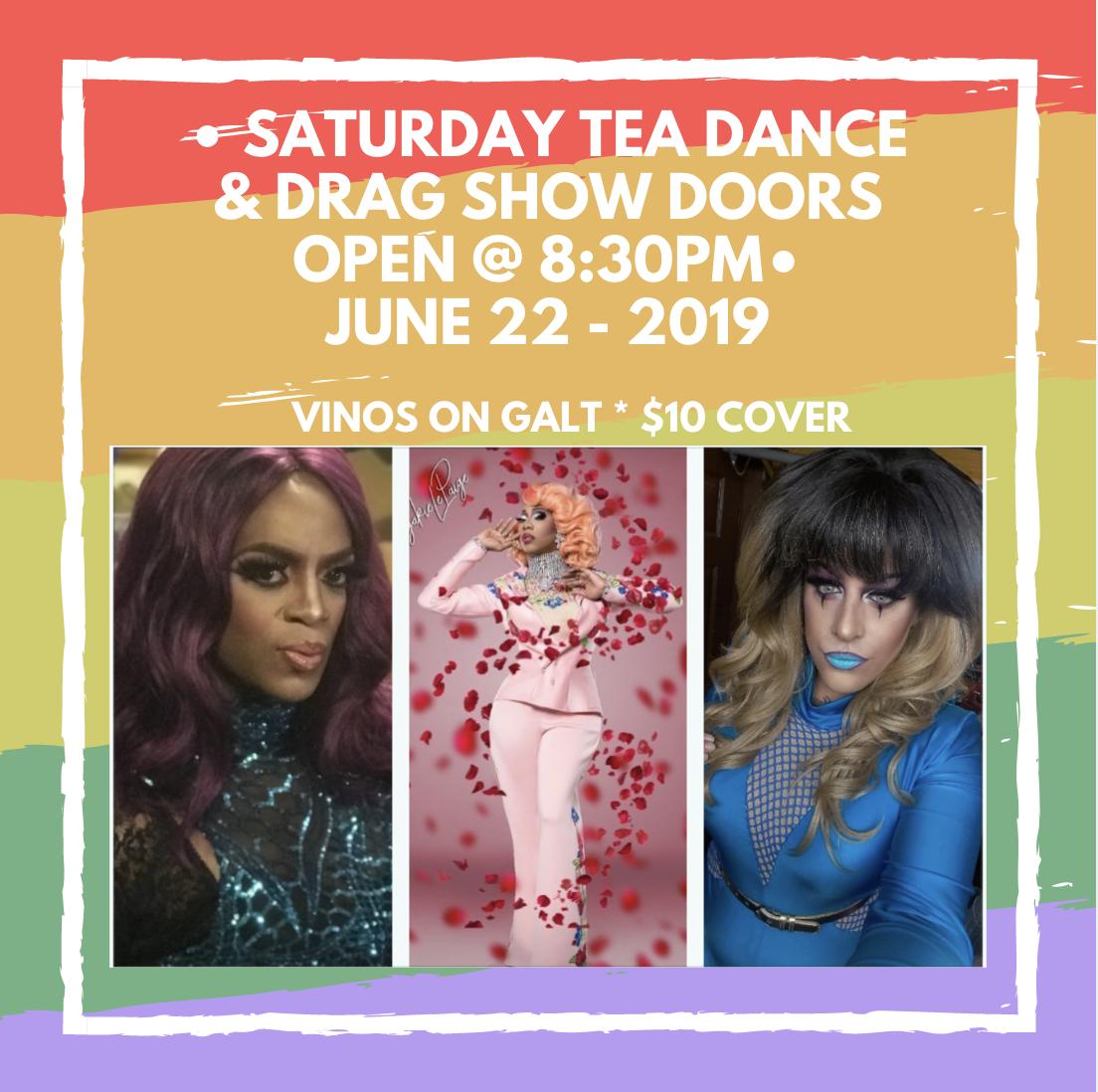 Tea Dance & Drag Night @ Vinos on Galt