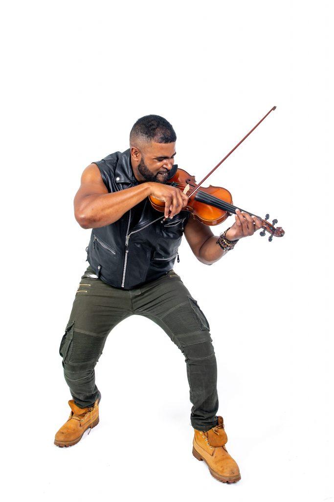Electric Violin with Big Lux at Vinos on Galt @ Vinos on Galt